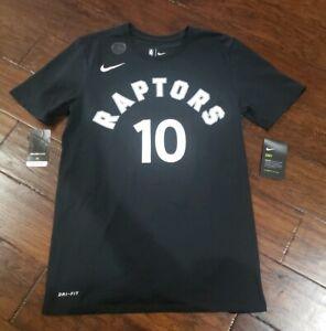 NIKE MENS NBA TORONTO RAPTORS DEMAR DEROZAN PLAYER T SHIRT Size Small 870810 014