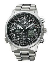 200 m (20 ATM) Armbanduhren mit Chronograph und Gebürstet