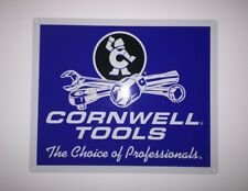 Cornwell Tools advertising metal sign Garage Shop Mancave New 10x12