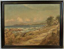 Mogens Ege (1892-1946) » Ostseeinsel Bornholm « ~1920 ! 104x80 cm