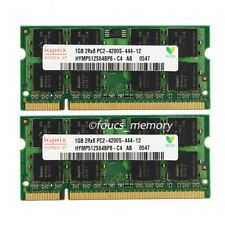 NEW Hynix 2GB 2X1GB PC2-4200 DDR2-533 MHz 200pin Sodimm 533mhz Laptop Memory RAM