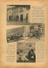 Spanish Civil War Soldiers of Mola Burgos Hendaye Beach Spain 1938 ILLUSTRATION
