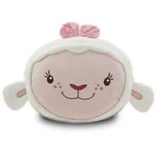 "NEW Disney World Store LAMBIE Large 22"" Plush Stuffed Throw Pillow NWT Cute!"