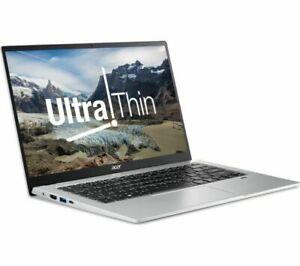 Acer Swift 1 14 inch (128GB, Intel Pentium N6000, 1.10GHz, 4GB)Laptop Silver-NEW