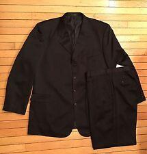 Vanetti Men's 2 Piece Black 4 Button Suit