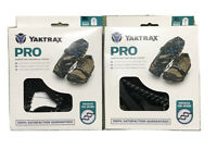 2 Pack Of Yaktrax Pro Outdoor Traction Cleats Black Size  XL Men's 15+