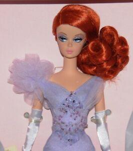Lavender Luxe Barbie 2014 NRFB silkstone BFMC ltd 8100 Gorgeous red head