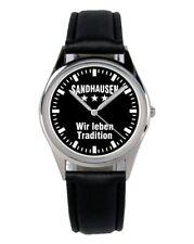 Sandhausen Geschenk Fan Artikel Zubehör Fanartikel Uhr B-2315