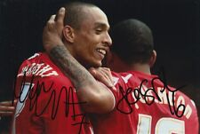 MK DONS HAND SIGNED JASON PUNCHEON AND MARK WRIGHT 6X4 PHOTO.
