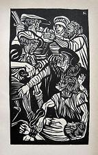 CONRAD FELIXMÜLLER THOMAS MÜNTZER GEFESSELT 1525 SCHLACHT BEI FRANKENHAUSEN