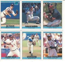 1992 Donruss Cleveland Indians Team Set