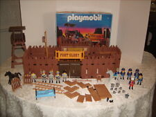 Vintage Playmobil 3806 Western Old Fort Glory Headquarters Stockade 1994 Geoba