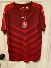 Czech Republic Zopakujeme Historii Puma Soccer Jersey Size Men's Xl Preowned