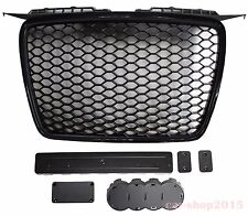 Black Grille RS Look for Audi A3 8P 2005-2008