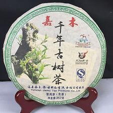 2008yr Yunnan Jiamu One Thousand Years Ancient Tea Puerh Tea 357g/Cake/Raw/Sheng
