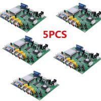 5xHD Video Converter Board CGA/EGA/YUV/RGB to VGA Arcade Game Monitor to LCD CRT