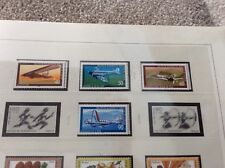 Berlin 1979.   Aviation history  set of 4 unmounted  mint stamps