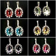 Alloy Drop/Dangle Oval Costume Earrings