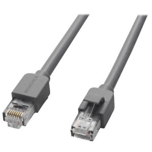 Lot of 3 Insignia 1.2m (4 ft.) Cat6 Network Cables (NS-PNW5604-C) Grey - NEW