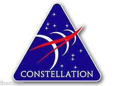 "4"" CONSTELLATION NASA SPACE HELMET CAR BUMPER EMBLEM DECAL STICKER MADE IN USA"