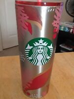 NEW Starbucks HOLIDAY Ornament 2019 Stainless Steel Venti Cold Cup Tumbler 24 oz