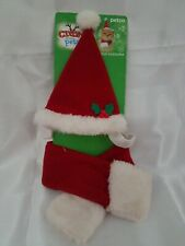 Mrs. CLAUS CAT HAT Cap (Sm Dog) Christmas Holiday petco new one size scarf santa