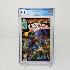 Marvel Spotlight #v2 #9 - Marvel 1980 CGC 9.6 Captain Universe. Mr. E Knull