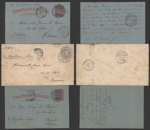 Chile - Lot of 3 Postal Stationery A263