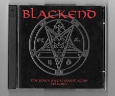 BLACKENED 3CD Lot The Black Metal Compilation Vol 1, 2, 3 Rare OOP 6 CDs Total
