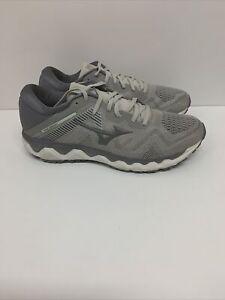 Mizuno Men's Wave Horizon 4 Running Shoe Steel Gray Marshmallow 9 D(M) US EU 42