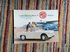 MG MIDGET MKII BROCHURE ENGLISH NUFFIELD PRESS 9/65 - 100M. H&E 6554 EXCELLENT