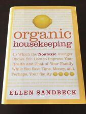 """Organic Housekeeping"" Ellen Sandbeck (Hardcover, 2006)  *VGC"