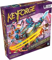 Keyforge World's Collide Factory Sealed 2 Player Starter Set, Priority Shipping!