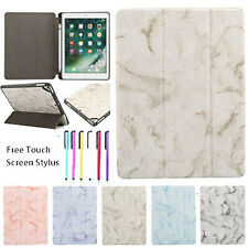 """For Apple iPad 10.2"""" 7th Gen Luxury Marble Smart Flip Leather Stand Case Cover"""