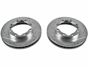 Front Brake Rotor Set For 90-00 Dodge Chevy GMC Ram 2500 3500 K3500 4WD FC27W7