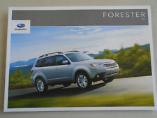 Subaru Forester brochure 2011 Canadian market English text