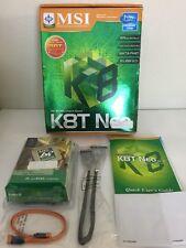 New listing Msi K8T Neo Via K8T800 Chipset Based Parts