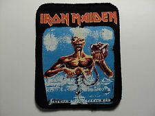 iron maiden seventh son of a seventh son printed patch