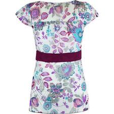 Maglie e camicie da donna maniche a 3/4 aderente in poliestere