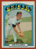1972 Topps #270 Jim Palmer VG-VGEX+ Baltimore Orioles Free Shipping