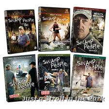 Swamp People: History TV Series Complete Seasons 1 2 3 4 5 6 Box / DVD Set(s)