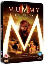 The MUMMY Trilogy (DVD 2009) (RARE STEELBOOK - 3 DISC BOX SET) COLLECTIBLE*****