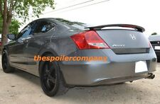 PRE-PAINTED ANY COLOR REAR SPOILER W/LIGHT FOR 2008-2012 HONDA ACCORD 2DR COUPE