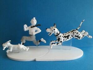 FIGURINE COLLECTION TINTIN HORS SERIE N°7 / TINTIN EN FUITE