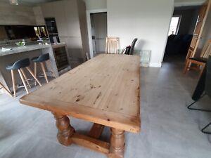 Farmhouse Kitchen Tables Ebay