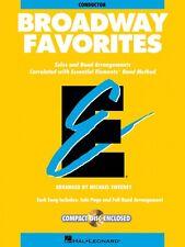 Essential Elements Broadway Favorites Bb Clarinet Band Folios Book New 000860038