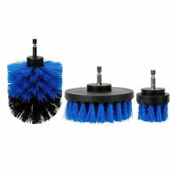 Car Wash Brush Hard Bristle Drill Auto Detailing Cleaning Tools 3pcs/set