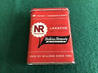 Vintage Nature's Remedy NR Laxative Medicine Pill Tin Container