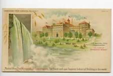 Pan-American Expo Buffalo Shredded Wheat Postcard