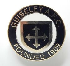 Guiseley Afc Football Club Enamel Badge Non League Football Clubs